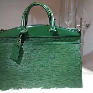 Auth LOUIS VUITTON Riviera Borneo Green Epi Bag